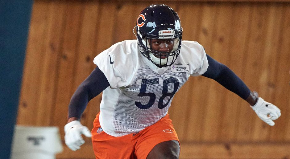 8. Chicago Bears: LB Roquan Smith  - Bildquelle: imago/Icon SMI