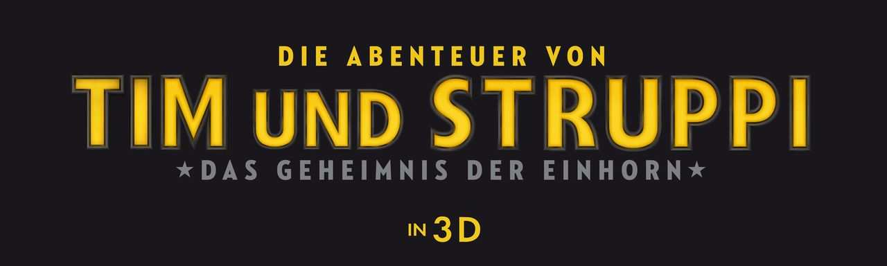 DIE ABENTEUER VON TIM UND STRUPPI - Logo - Bildquelle: 2011 Columbia Pictures Industries, Inc., DW Studios L.L.C. and Hemisphere - Culver Picture Partners I, LLC. All Rights Reserved.