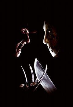 Freddy vs. Jason - Freddy (Robert Englund, l.) vs. Jason (Ken Kirzinger, r.)...