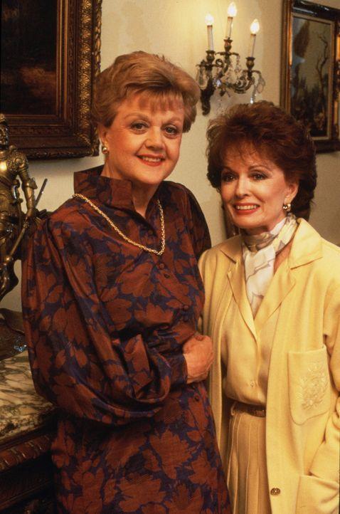 Franchesca (Ann Blyth, r.) bittet ihre alte Freundin Jessica (Angela Lansbury, l.) um Hilfe. Sie glaubt, ihr verstorbener Mann Ross spuke in ihrem H... - Bildquelle: Universal Pictures