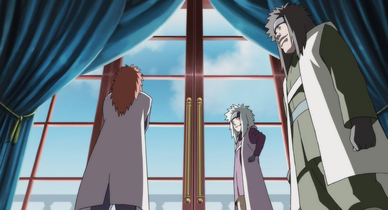 Eigentlich schien die Aufgabe sehr einfach: den Prinzen des Sichelmondreiches und dessen Sohn Hikaru samt ihrer Karawane zu schützen und sicher in i... - Bildquelle: MASASHI KISHIMOTO  NMP 2006