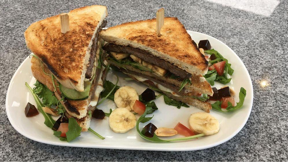 Ralfs Steak-Sandwich mit Geleia de Mocoto