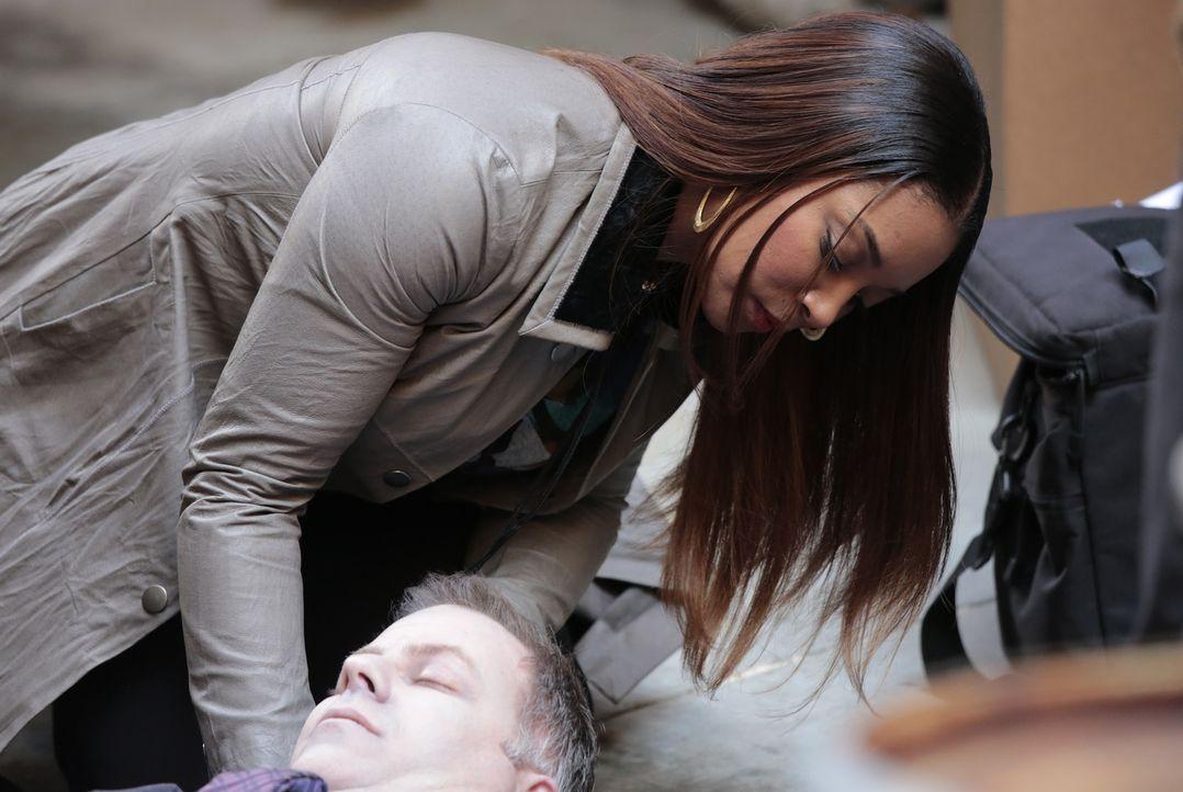 Die Erkenntnis, woran Falco gestorben ist, fällt Lanie (Tamala Jones) leicht ... - Bildquelle: Richard Cartwright ABC Studios