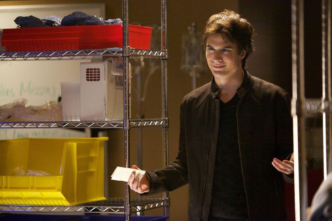 Zur rechten Zeit am richtigen Ort: Damon (Ian Somerhalder) schafft es mal wieder, im letzten Moment ein Unglück zu verhindern ... - Bildquelle: Warner Brothers