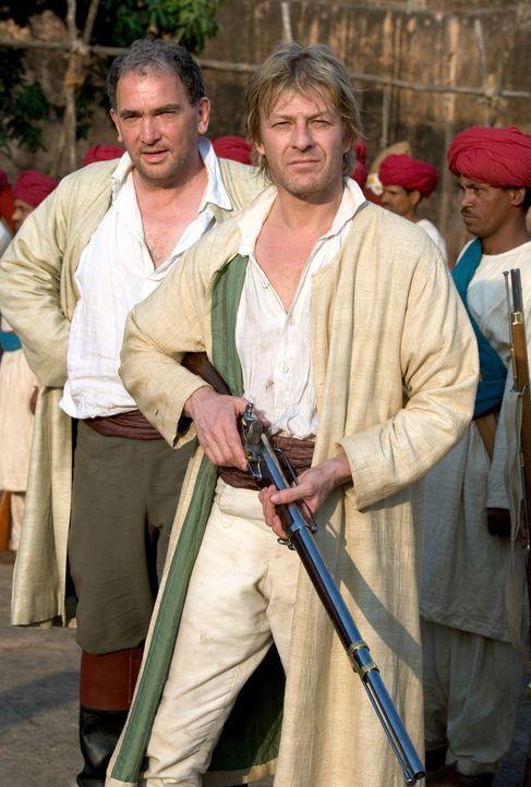 Fürchtet weder Tod noch Teufel: Richard Sharpe (Sean Bean) ... - Bildquelle: Copyright BBC 2006