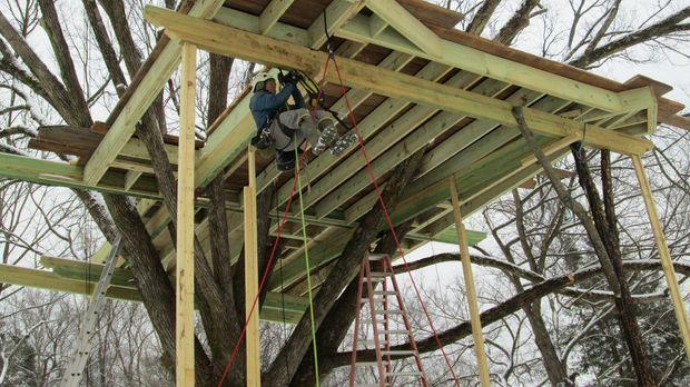 Eine der herausforderndsten Aufgaben, die die Treehouse Guys bisher hatten: W...