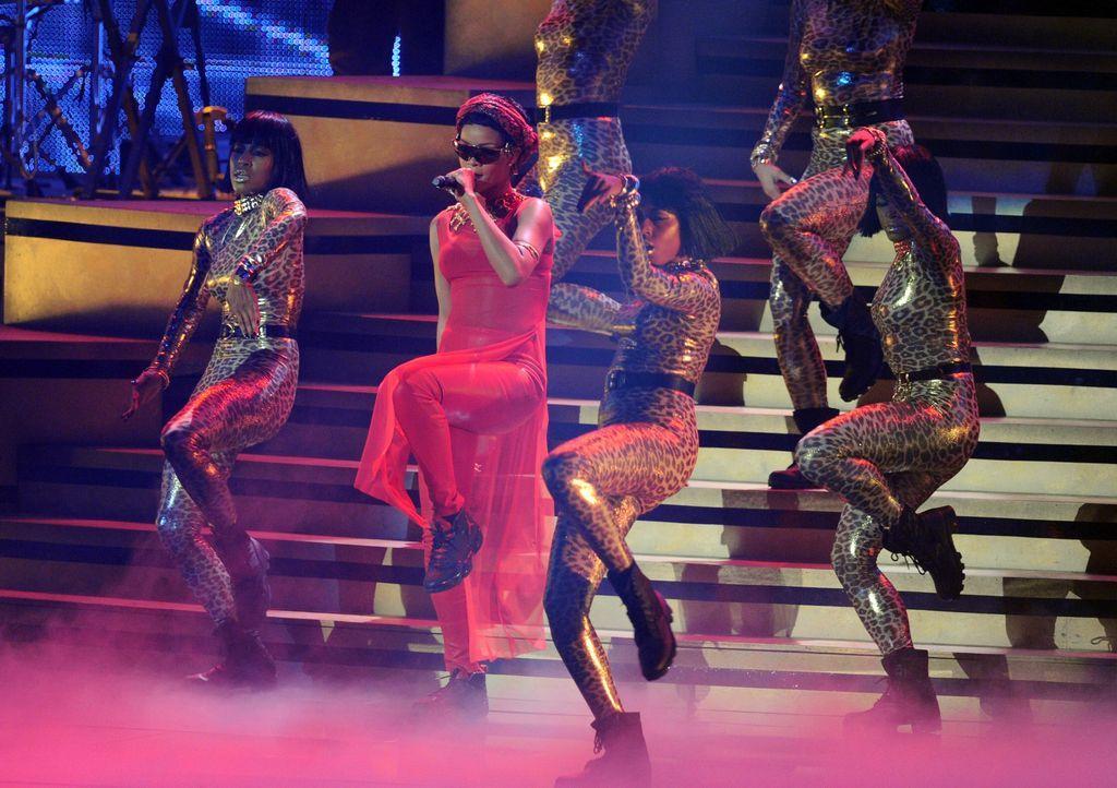 Rihannas Show bei den MTV Video Music Awards - Bildquelle: AFP