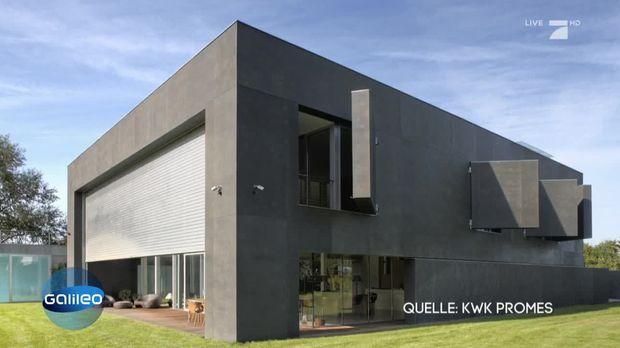Modernste villa der welt  Galileo - Video - Das sicherste Haus der Welt - ProSieben
