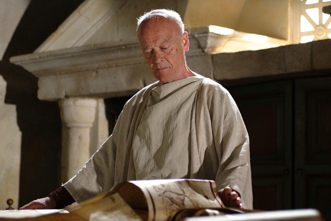 Als Wortführer der republikanischen Minderheit im Senat hält Cicero (Michael Byrne) 14 scharfe Reden gegen Marcus Antonius' Alleinherrschaftsanspr... - Bildquelle: Hallmark Entertainment