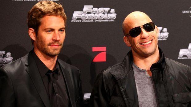 """Paul Walker und Vin Diesel waren auch abseits des """"Fast and Furious 7&qu..."""