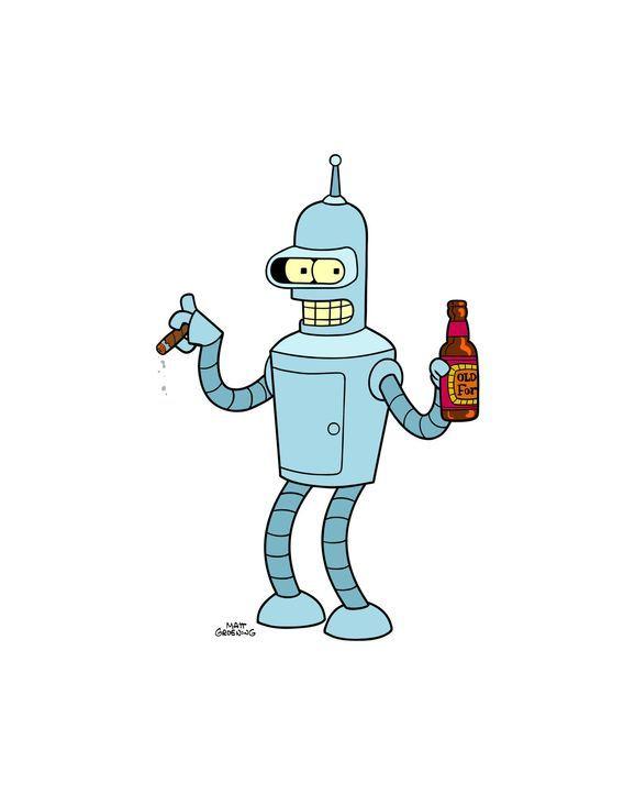 (9. Staffel) - Bender ist ein Roboter mit großem Herz und allzu menschlichen Schwächen ... - Bildquelle: 2010 Twentieth Century Fox Film Corporation. All rights reserved.
