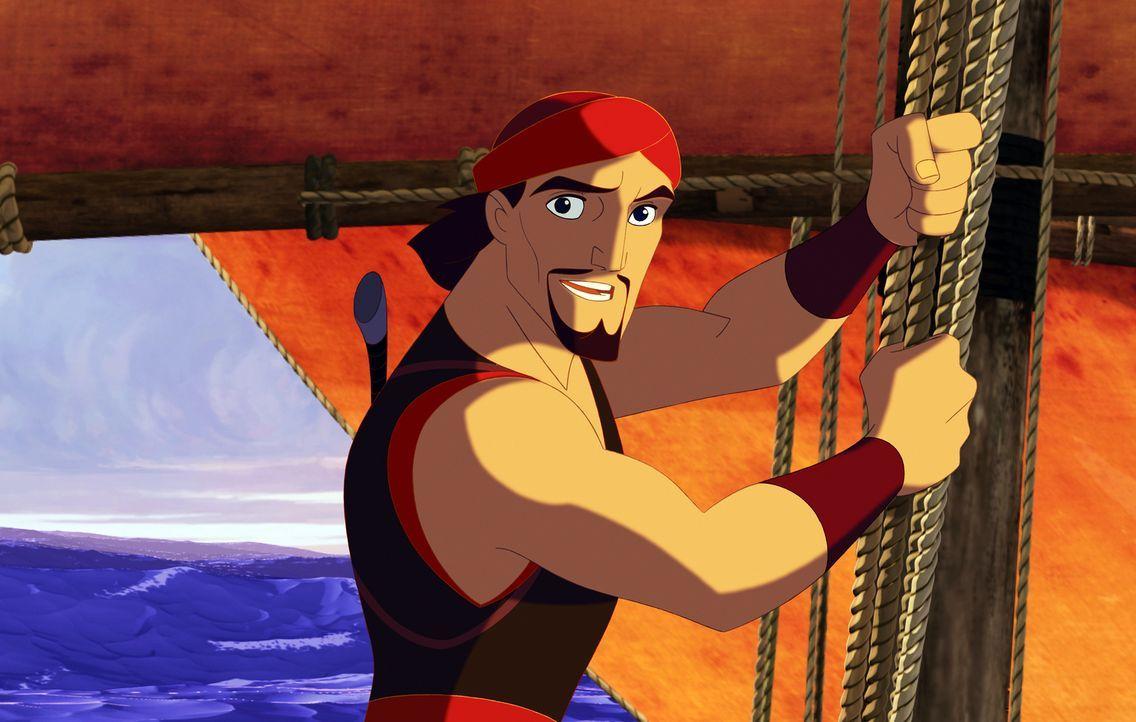Sinbad wird beschuldigt, ein wertvolles Buch gestohlen zu haben. Bei dem Versuch, seine Unschuld zu beweisen, gerät er von einer gefährlichen Situat... - Bildquelle: DreamWorks SKG