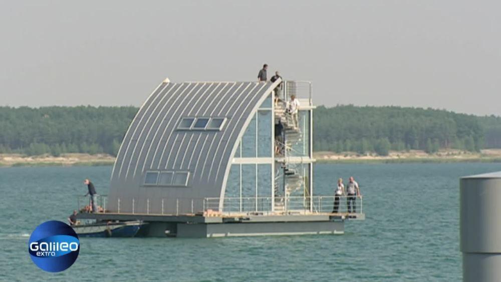 Haus auf See