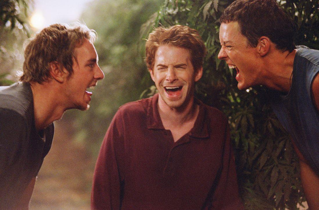 Drei Freunde, (v.l.n.r.) Tom (Dax Shepard), Dan (Seth Green) und Jerry (Matthew Lillard), die sich seit ihren Tagen in der Highschool aus den Augen... - Bildquelle: Paramount Pictures