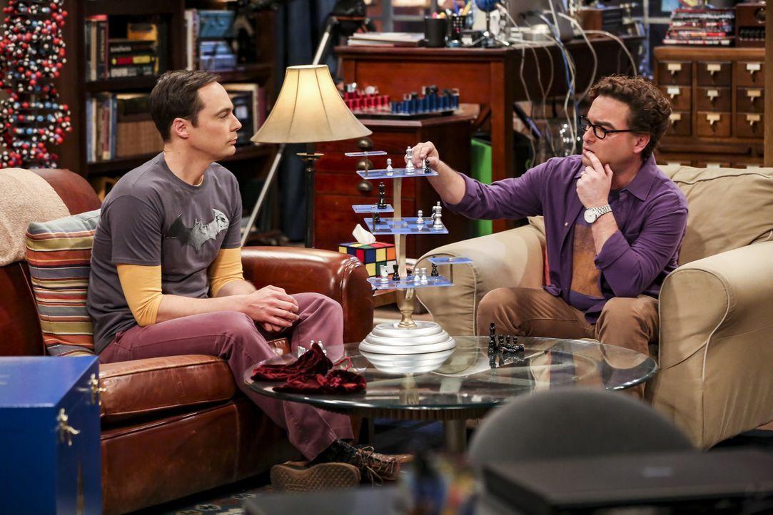 Sheldon (Jim Parsons, l.); Leonard (Johnny Galecki, r.) - Bildquelle: Michael Yarish Warner Bros./Michael Yarish