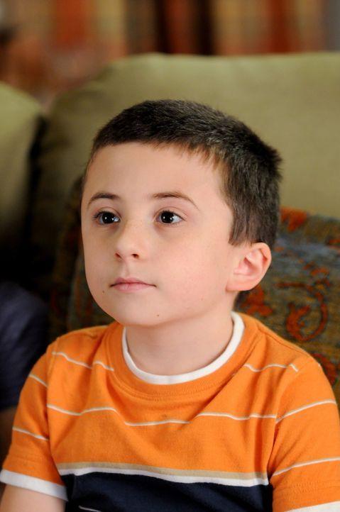 Hat einen ganz besonderen Wunsch an seine Mama - doch wird sie ihm diesen erfüllen können? Brick (Atticus Shaffer) ... - Bildquelle: Warner Brothers