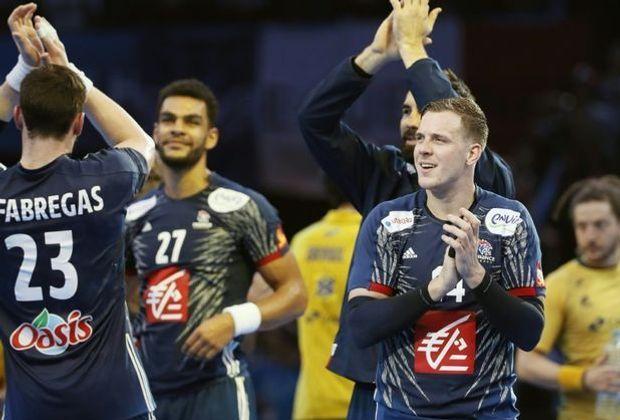 Die Franzosen bejubeln einen überzeugenden Auftaktsieg