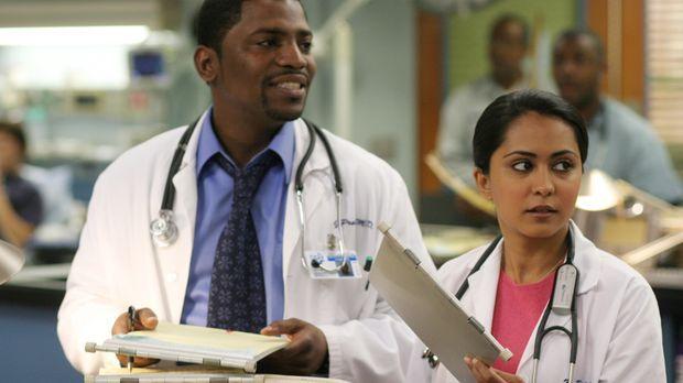 Freuen sich für Carter, der eine Dozentenstelle im County bekommen hat: Dr. G...