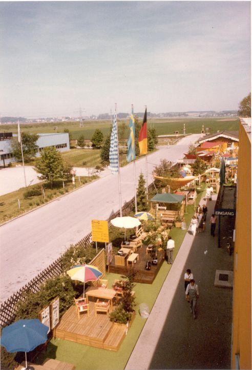 IKEA Eching 1974 Aussenbereich Eingang