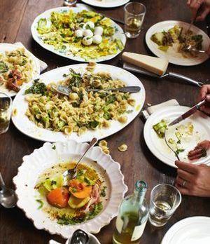 Jamie Oliver zaubert Orcchiette mit Brokkoli - ein leckeres Pasta Rezept und...