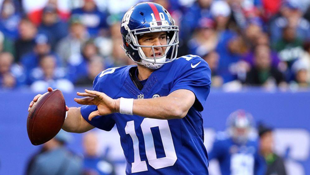 Weihnachts-Gewinnspiel: Trikot von Eli Manning zu gewinnen