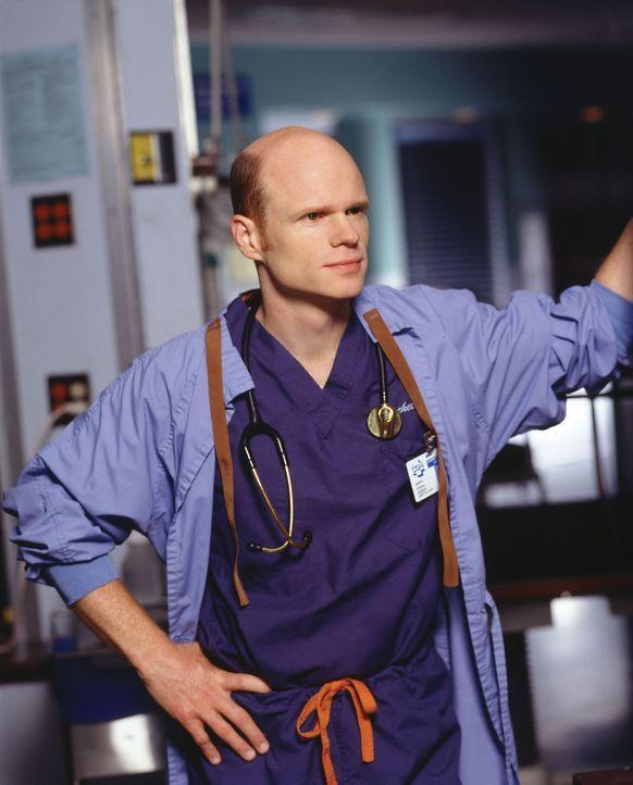 (8. Staffel) - Die Kollegen sind sich einig: Chefarzt Dr. Romano (Paul McCrane) ist intrigant, gefühllos und hartherzig ... - Bildquelle: WARNER BROS