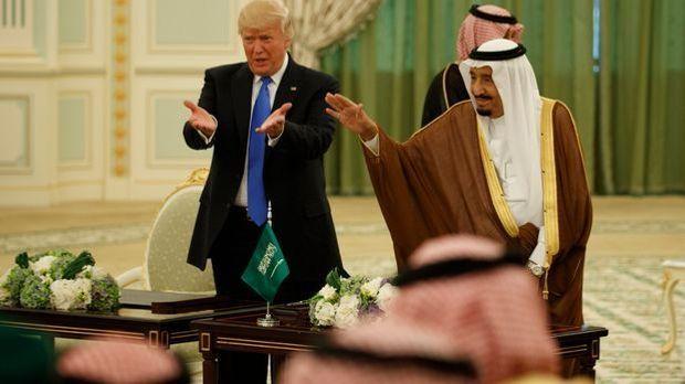 Trump_Arabien_dpa