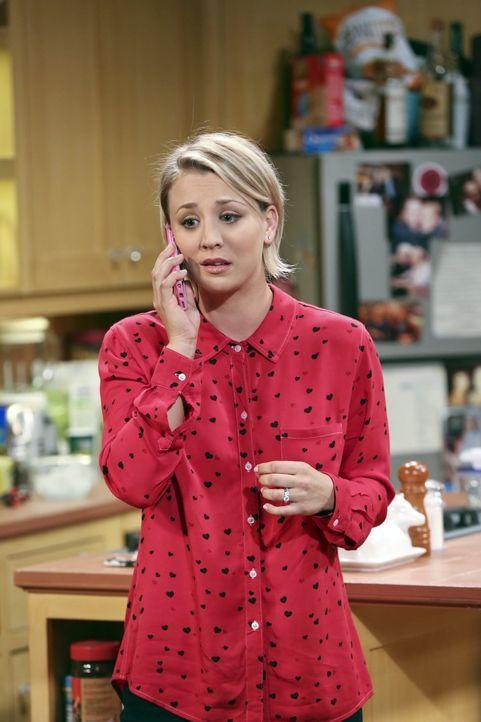 Von Amy und Bernadette überredet, wagt Penny (Kaley Cuoco) den Schritt und teilt ihren Eltern endlich mit, dass sie mit Leonard verheiratet ist ... - Bildquelle: 2015 Warner Brothers