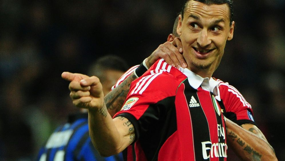 AC Mailand schließt eine Ibrahimovic-Rückkehr nicht aus - Bildquelle: AFPSIDOLIVIER MORIN