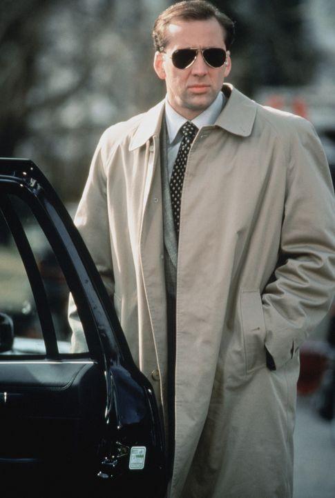 Eigentlich träumt der Secret Service-Mann Doug (Nicolas Cage) von einer spannenden Agentenkarriere, doch dann wird er als Bodyguard der schrulligen... - Bildquelle: TriStar Pictures