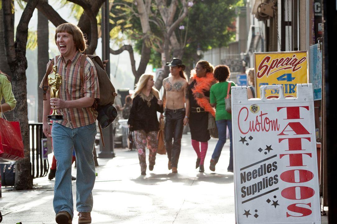 Als er erfährt, dass seine Eltern berühmte Pornodarsteller waren, steht Bucky Larsons (Nick Swardson) Berufswahl fest: Er will ebenfalls Pornostar i... - Bildquelle: 2011 Columbia Pictures Industries, Inc. All Rights Reserved.