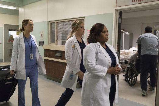 Grey's Anatomy - Begeben sich zu einem Hochsicherheitsgefängnis für Frauen, w...