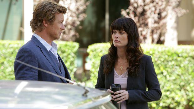 Ermitteln in einem neuen Mordfall: Patrick Jane (Simon Baker, l.) und Teresa...