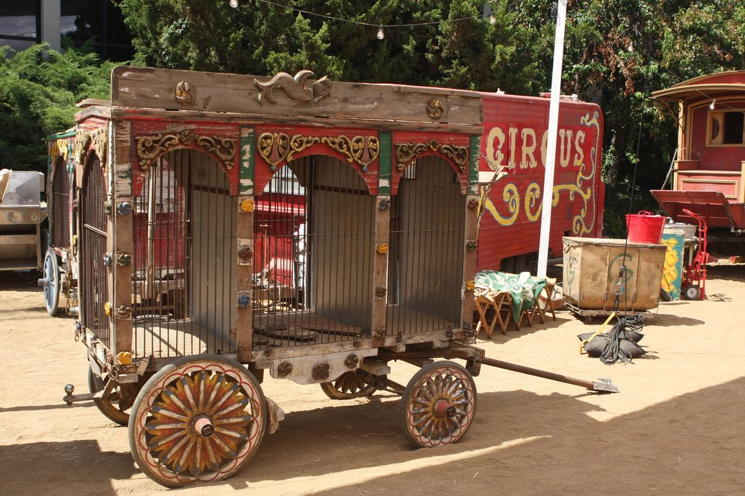 """Am Set von """"Zirkus Zirkus"""" ... - Bildquelle: Warner Brothers"""