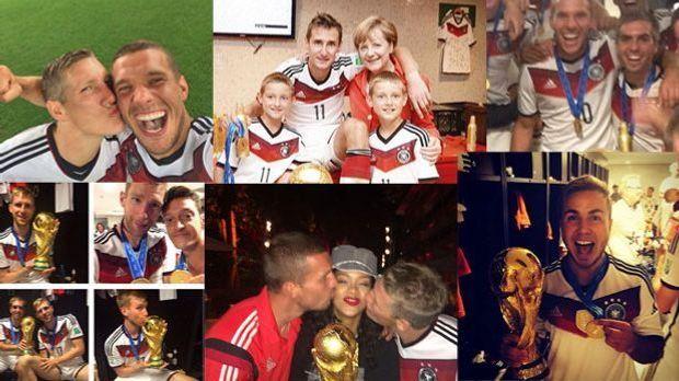 WM-Sieg 2014: Die schönsten Bilder der deutschen Nationalmannschaft