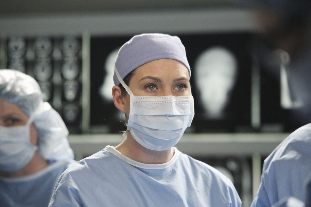 Versucht alles, um Callie zu retten - doch hat sie eine Cahnce? Meredith (Ellen Pompeo) ... - Bildquelle: ABC Studios