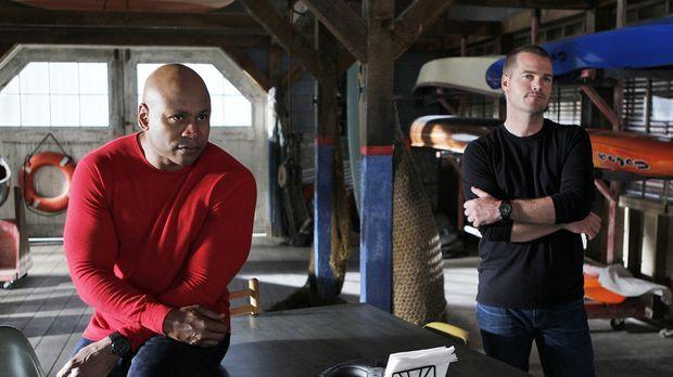 Ermitteln in einem neuen Fall: Callen (Chris O'Donnell, r.) und Sam (LL Cool...