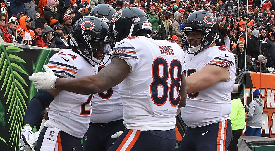 Platz 8 (geteilt): Chicago Bears (NFC North) - Bildquelle: 2017 Getty Images