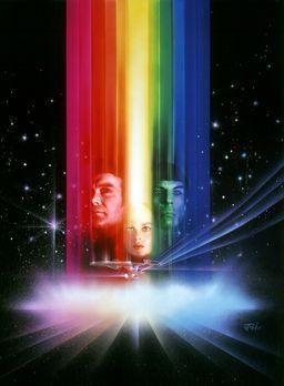 Star Trek - Der Film - Captain James T. Kirk (William Shatner, l.) und Cmdr....