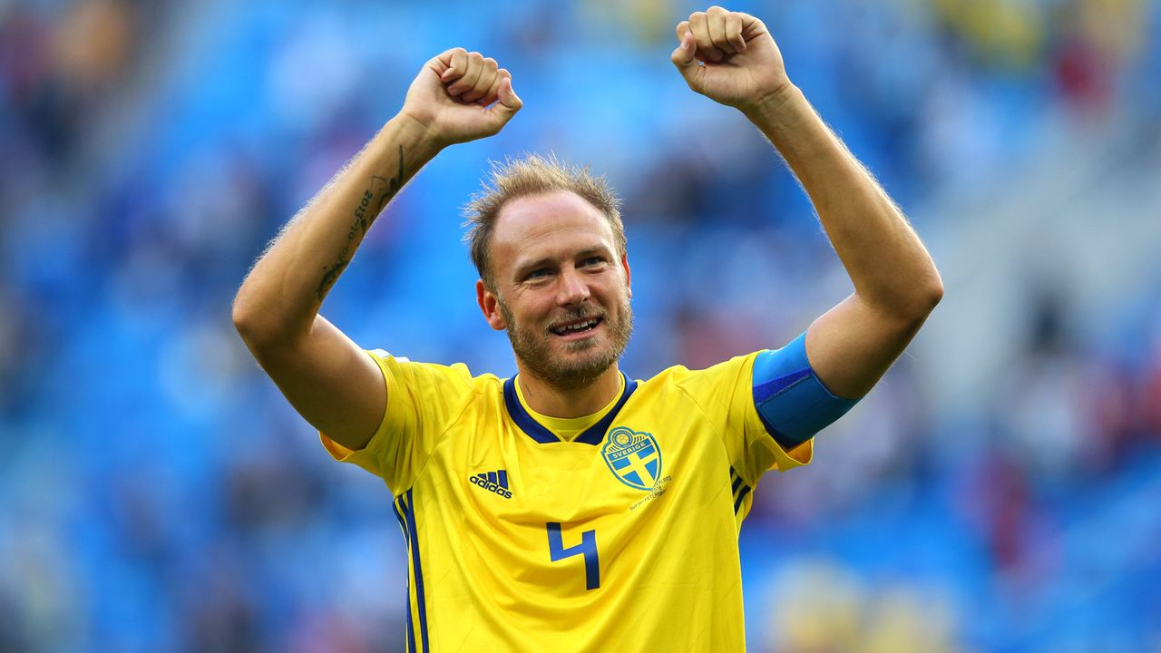 Andreas Granqvist (Schweden) - Bildquelle: 2018 Getty Images