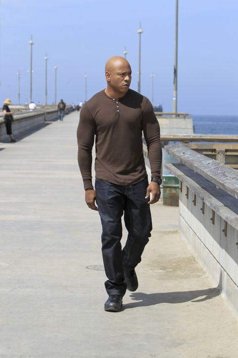 Während Callen vom Dienst suspendiert wurde, muss Sam (LL Cool J) einen neuen Fall lösen ... - Bildquelle: CBS Studios Inc. All Rights Reserved.