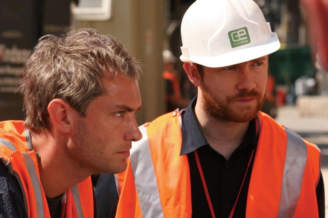 Will (Jude Law, l.) und sein Partner Sandy (Martin Freeman, r.) betreiben in London ein erfolgreiches Architekturbüro. Doch die modern ausgestattet... - Bildquelle: Miramax Films.  All Rights Reserved.