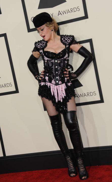 Madonna   - Bildquelle: VALERIE MACON  AFP