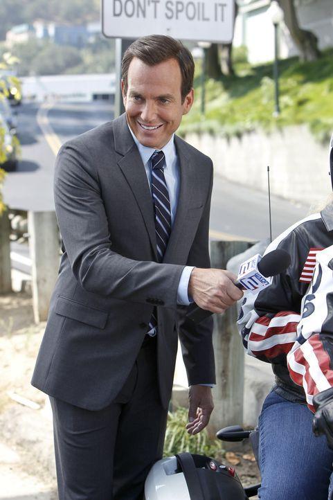 Dass sich seine Eltern ernsthaft scheiden lassen wollen, will Nathan (Will Arnett) nicht wahrhaben. Er heckt kurzerhand einen Plan aus, um seine ver... - Bildquelle: 2013 CBS Broadcasting, Inc. All Rights Reserved.