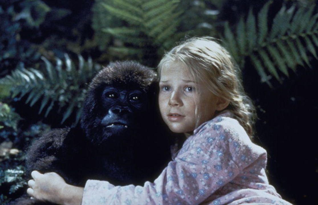 Die kleine Jill (Mika Boorem) wächst als Tochter einer Zoologin im afrikanischen Busch auf. Dort freundet sie sich mit dem Gorilla-Baby Joe an. Bei...