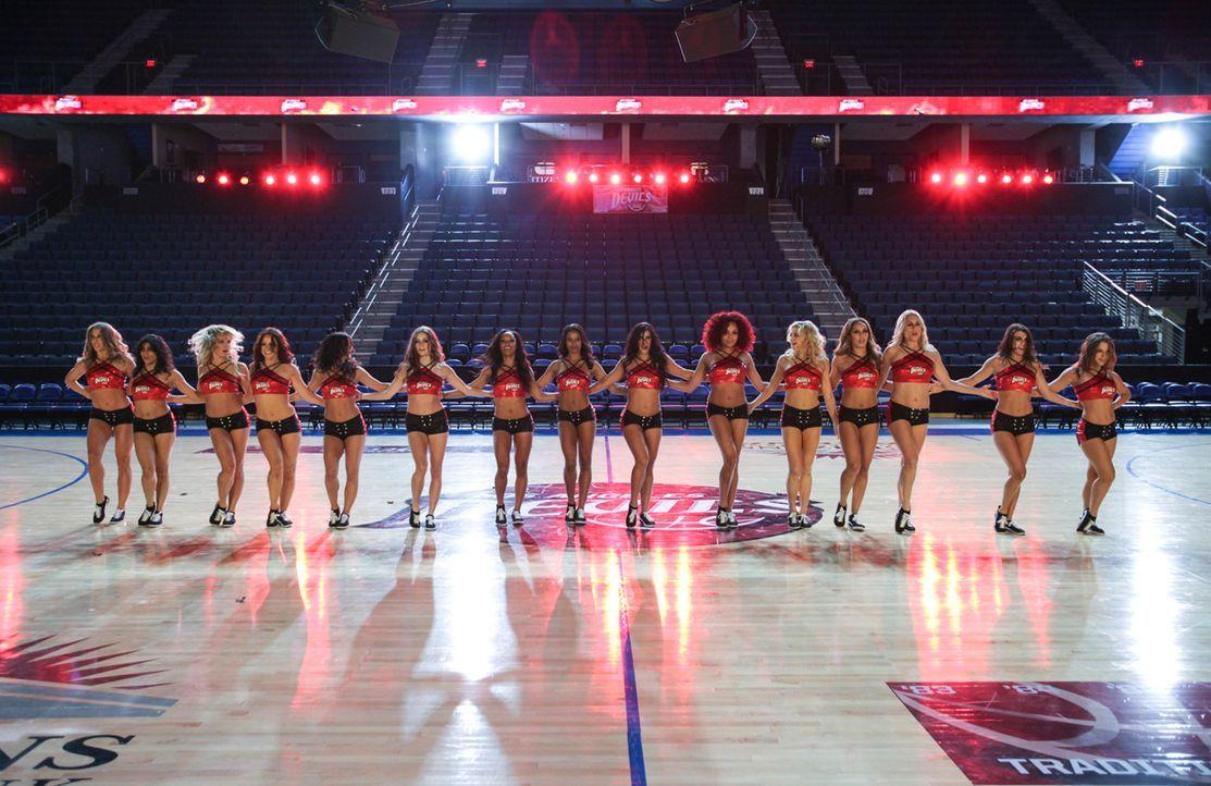 Wer wird im neuen Cheerleader-Team der Los Angeles Devils sein? - Bildquelle: Scott Alan Humbert 2013 Starz Entertainment LLC, All rights reserved