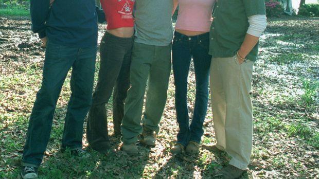 (v.l.n.r.) Erik (Jeff Davis), Sharon (Ashley Scott), Tyler (Clayne Crawford),...
