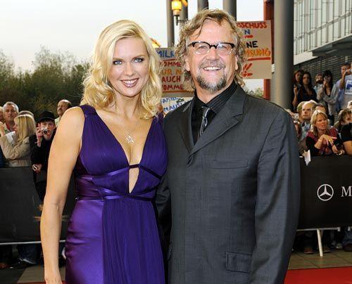 Bis vor kurzem sah bei Veronica Ferres und ihrem Mann Martin Krug alles noch so glücklich und harmonisch aus... - Bildquelle: dpa