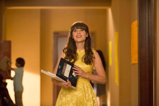 New Girl - Jess (Zooey Deschanel) hat große Schwierigkeiten, an ihrer neuen S...