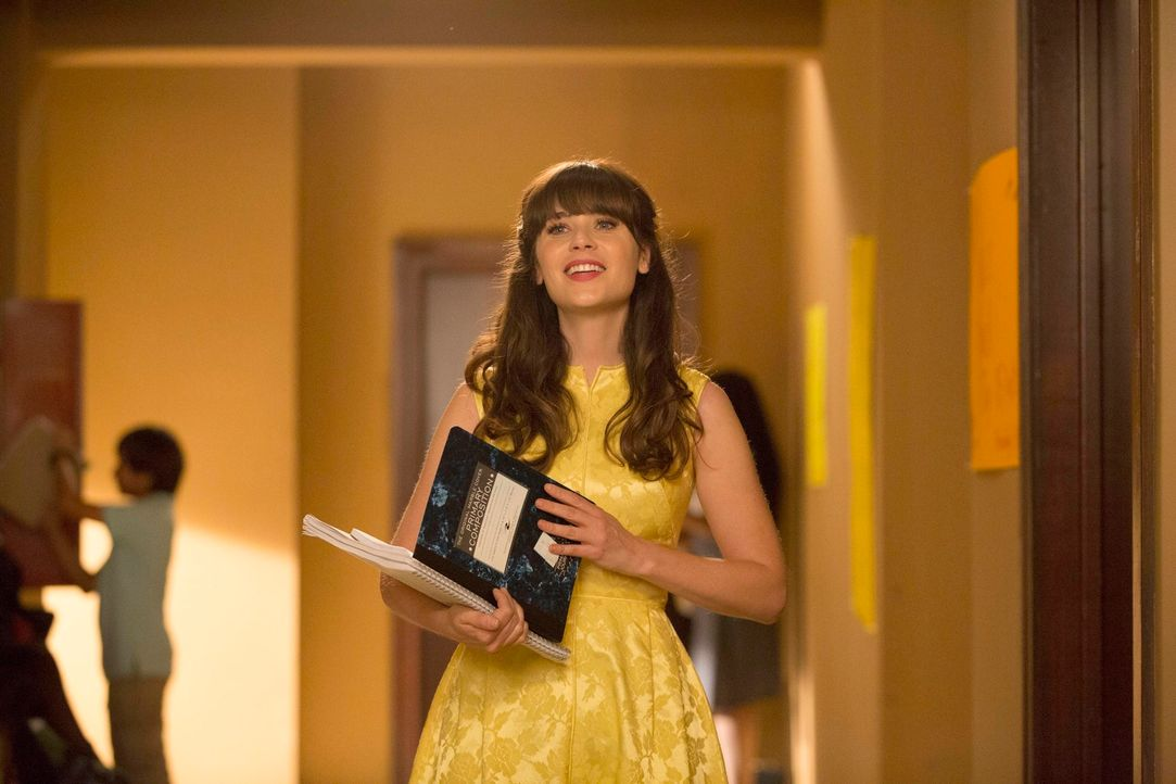 Jess (Zooey Deschanel) hat große Schwierigkeiten, an ihrer neuen Schule Anschluss zu finden. Nick versucht ihr zu helfen, die dort tonangebende Lehr... - Bildquelle: TM &   2013 Fox and its related entities. All rights reserved.